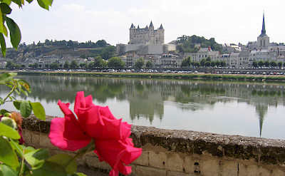 Saumur with its Chateau in the background. Photo courtesy TO