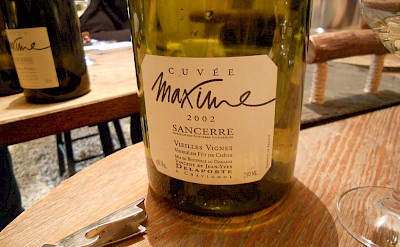 Local Sancerre wine in France. Flickr:James Onfink