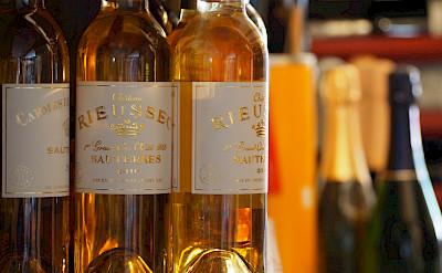Delicious Sauternes wine in France. Flickr:Dominic Lockyer