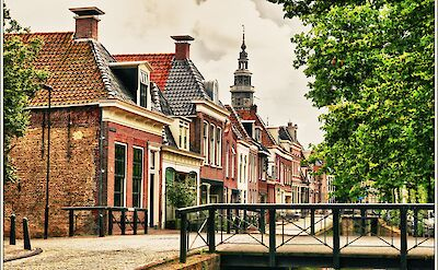 On the corner of Kleine Dijlakker & Broerestraat in Bolsward, the Netherlands. Flickr:Bert Kaufmann