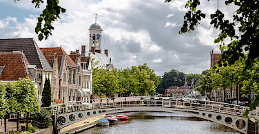 Dokkum on the Friesland 11-City Bike Tour in the Netherlands. Photo via Flickr:Theasijtsma