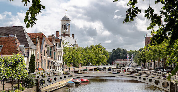 Dokkum on the Friesland 11-City Bike Tour in the Netherlands. Flickr:Theasijtsma