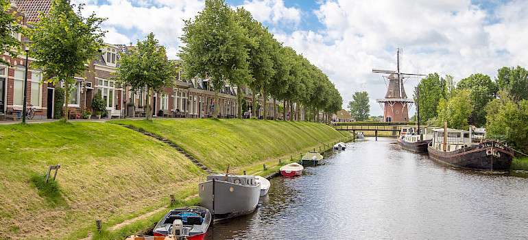 Dokkum in Friesland, the Netherlands. Photo via Flickr:Theasijtsma