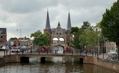 Great architecture along the Elfstedentocht or 11-City Tour in Friesland, the Netherlands. Flickr:Ronald van der Graaf