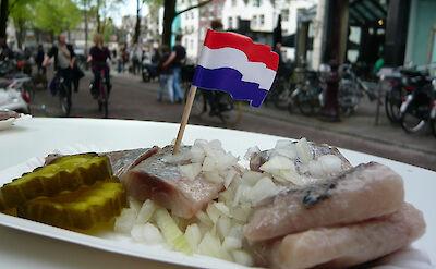 Traditional herring in Holland! Flickr:WordRidden