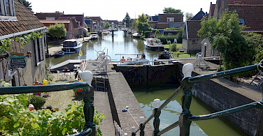 Hindeloopen is also on the IJsselmeer, Friesland, the Netherlands. Photo via Flickr:dassel