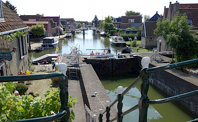 Hindeloopen is also on the IJsselmeer, Friesland, the Netherlands. Flickr:dassel