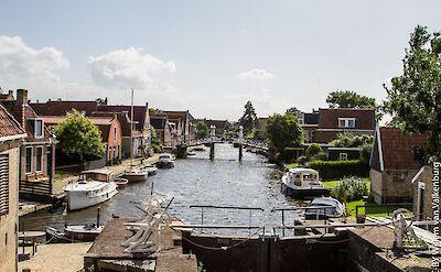 Hindeloopen, Friesland, the Netherlands. Flickr:Willem van Valkenburg