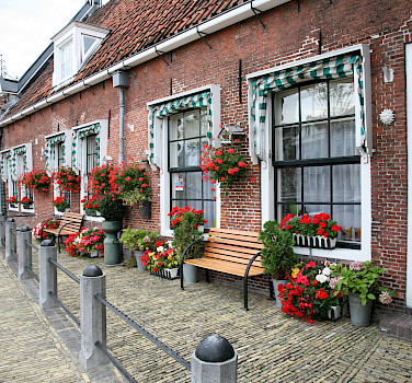 Sneek in Friesland, the Netherlands. Photo via Flickr:Bert Knottenbeld