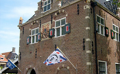 Great Frisian architecture in Workum, Friesland, the Netherlands. Flickr:Taco White