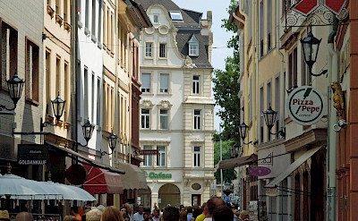 Shopping in Mainz, Germany. Photo via Flickr:Compte d'Artagnan