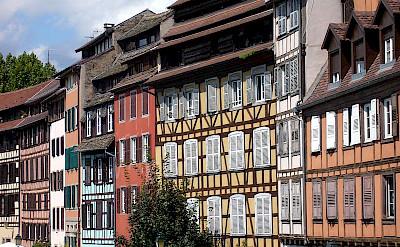 Strasbourg in France near the German border. Photo via Wikimedia Commons:Jonathan Martz