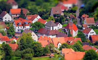 Wasgau wine region amid the Palatinate Forest, Germany. Photo via Flickr:rolohauck