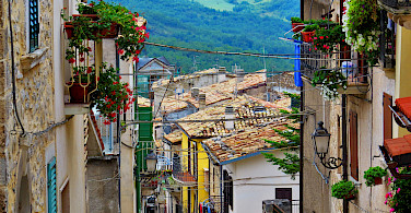 Great views in Caramanico Terme, Abruzzo, Italy. Photo via Flickr:Gianfranco Vitolo