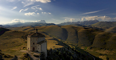 Gran Sasso, part of the Italian Appennini. Photo via Flickr:Paolo Fefe