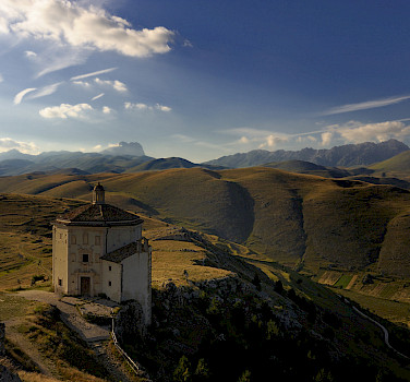 Gran Sasso, part of the Italian Appennini. Photo via Flickr:Paolo Fefe