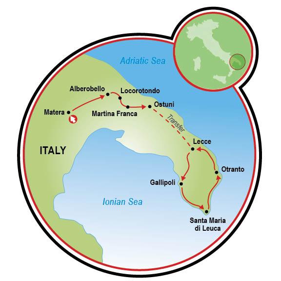 Heel Of Italy Bike Tour Puglia Italy Tripsite