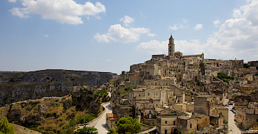 Matera, a UNESCO Site, in Basilicata, Italy. Photo via Flickr:Francesca Cappa