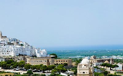 Hilltop white village of Ostuni, Brindisi, Puglia, Italy. Flickr:Michele Vangelista
