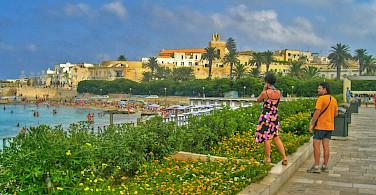 From bike to beach in Otranto, Italy. Photo via Flickr:Andrea D'Alba