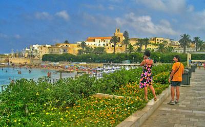 From bike to beach in Otranto, Italy. Flickr:Andrea D'Alba
