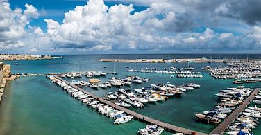 Blue waters of Otranto, Puglia, Italy. Photo via Flickr:Giuseppe Milo