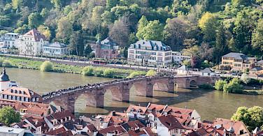 Old Bridge in Heidelberg, Germany. Photo via Flickr:Gunter Hentschel