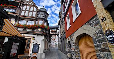 Bike tour through Rüdesheim, Germany. Photo via Flickr:Skaja Lee