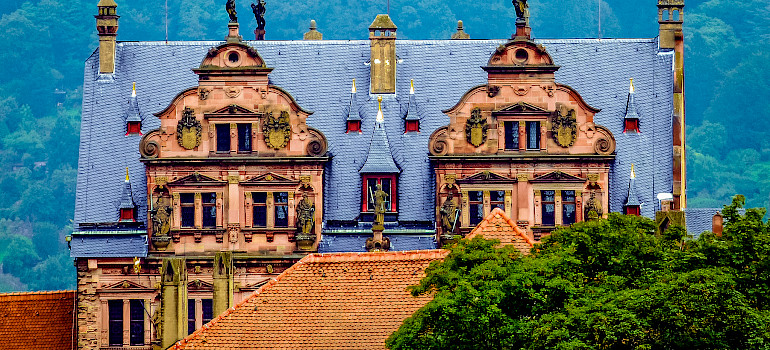 Schloss Heidelberg - what a marvel! Photo via Flickr:Plybert49