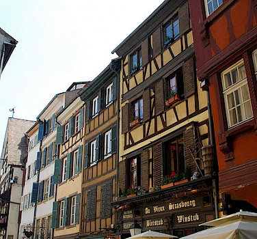 Strasbourg, France near the German border. Photo via Flickr:DoctorWho