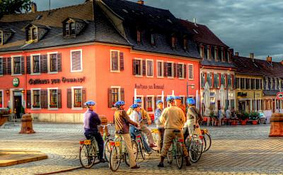Cyclists in Speyer, Germany. Flickr:alainlm