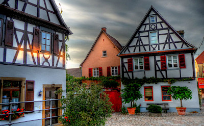Great architecture of half-timbered homes in Speyer, Germany. Flickr:alainlm