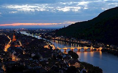 Gorgeous Heidelberg at night. CC:Godoi
