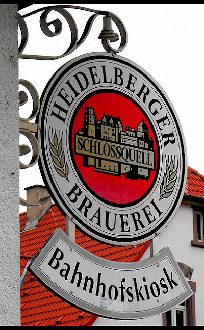 Enjoy a beer at a Heidelberger Brauerei on your German bike tour - Photo via Flickr:Rusty Boxcars