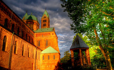 Famous Cathedral in Speyer, Germany. Flickr:alainlm