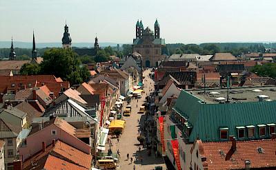 Market in Speyer, Germany. Flickr:Daniel Sancho