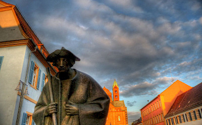 Statue in Speyer, Germany. Flickr:alainlm