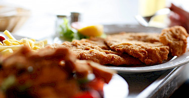 Weiner Schnitzel in Germany, of course! Photo via fotopedia:Matt Hausunger