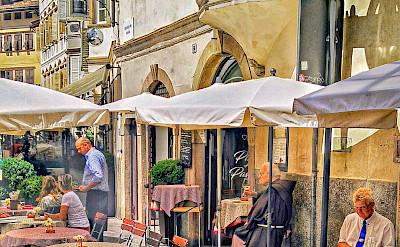 Bike rest in Bolzano, South Tyrol, Italy. Flickr:r chelseth