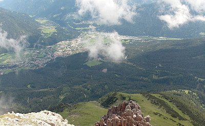 Overlooking Imst in Austria. Wikimedia Commons:Wualex