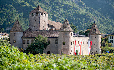 Maretsch Castle in Bolzano, Italy. Wikimedia Commons:Vollmond11