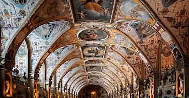 Antiquarium in Munich Residenz, Germany. Photo via Wikimedia Commons:mk063