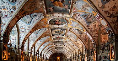 Antiquarium in Munich Residenz, Germany. Photo via Wikimedia Commons:mk063