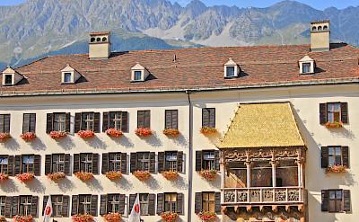 Famous <i>Goldenes Dachl</i> (Golden Roof) in Innsbruck, Austria where Emperor Maximilian I would watch festivals! Flickr:Michela Simoncini