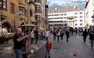 View of the Golden Roof in Innsbruck, Austria. Photo via Flickr:Reisender1701