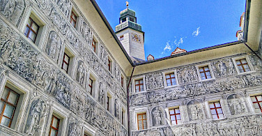 Great facades in Innsbruck, Austria. Flickr:r chelseth