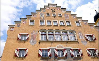 Rathaus in Kufstein, Tyrol, Germany. Photo via Flickr:Janos Korom Dr.