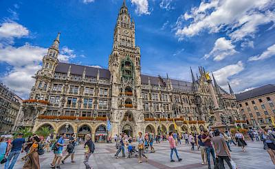 Marienplatz in Munich, Germany. Photo via Flickr:Graeme Churchard