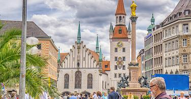 Famous Marienplatz in Munich, Germany. Photo via Flickr:Graeme Churchard