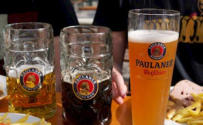 Tasty beers in Munich, Bavaria, Germany. Photo via Flickr:junseita